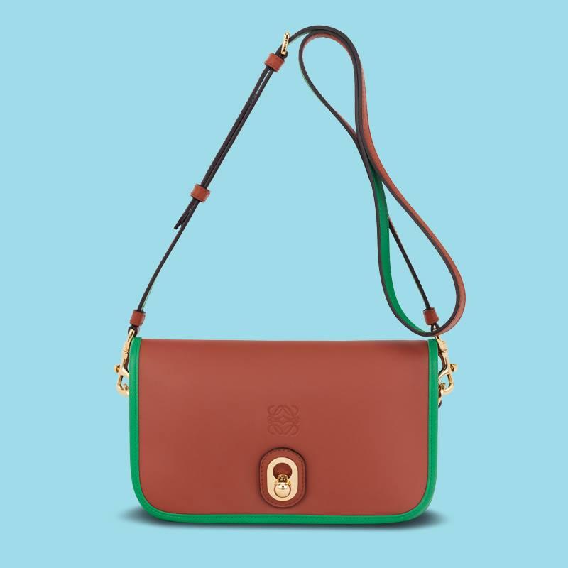 Loewe's Brown 'Inés' Bag.