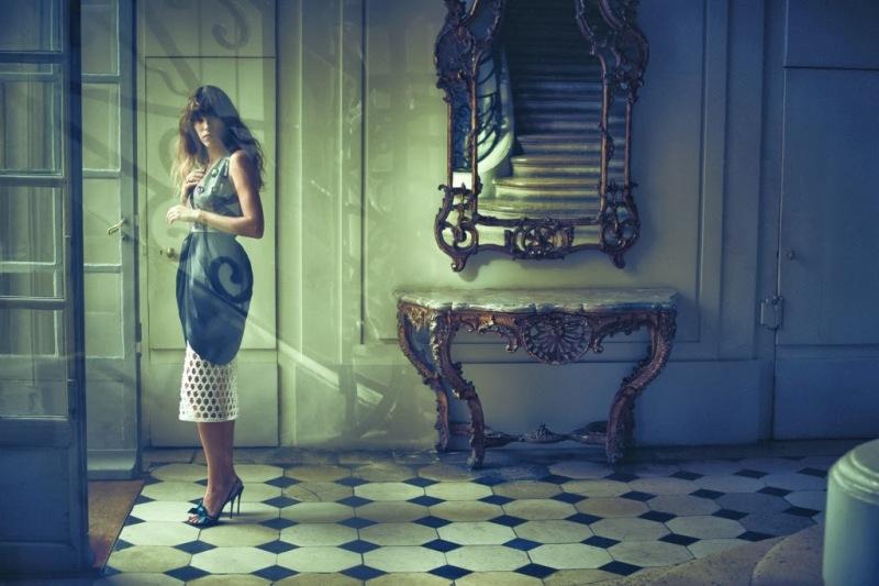 Lou Doillon by Serge Leblon for Vogue Turkey November 2013