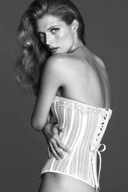 Malgosia Bela by Mert & Marcus for La Perla Spring/Summer 2014  Ad Campaign