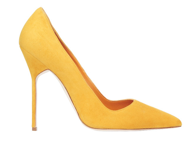 Manolo Blahnik's BB pumps fall 2013