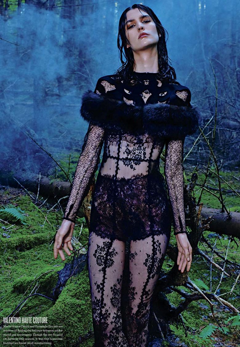 Manon Leloup By Kacper Kasprzyk For V Magazine Fall/Winter 2013/14