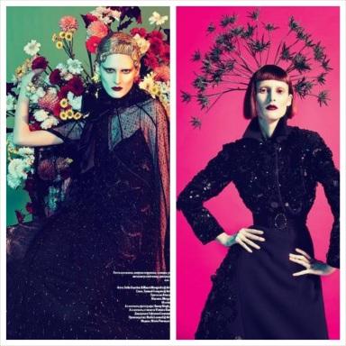 Marie Piovesan by Sofia Sanchez and Mauro Mongiello for Vogue Ukraine December 2013