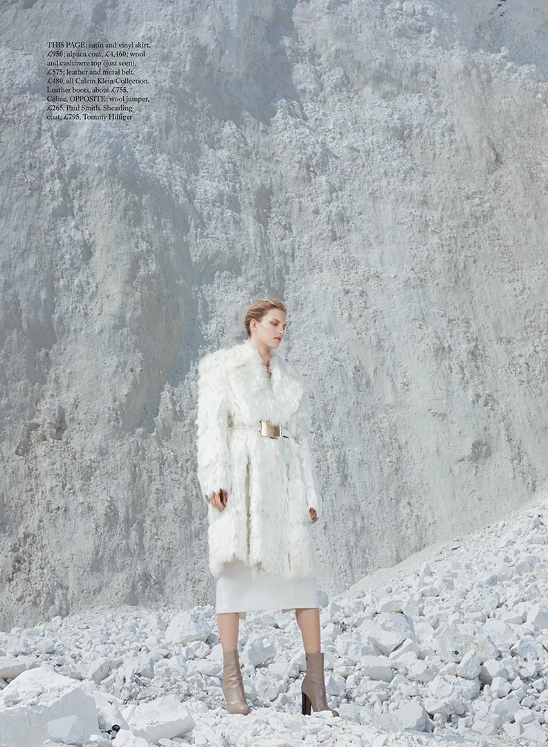 Marique Schimmel by Thomas Lohr for Harper's Bazaar UK  December 2013