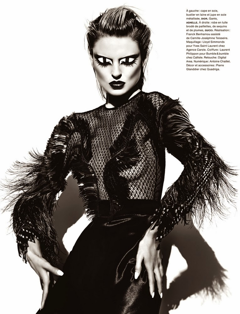 Martha Hunt By Txema Yeste For Numéro #148 November 2013
