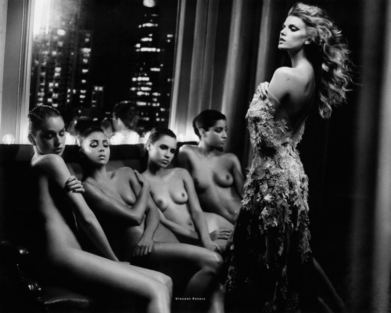 Maryna Linchuk By Vincent Peters For Vogue Russia December 2013