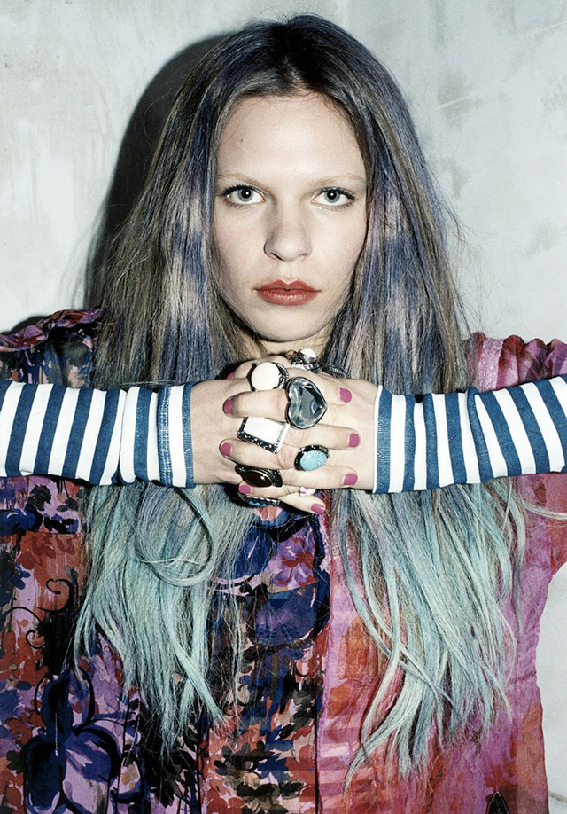 Meadham Kirchhoff For Topshop spring/summer 2011