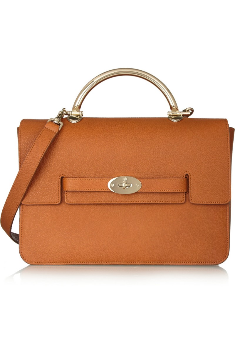 MULBERRY The Bayswater Shoulder large textured-leather bag €2,000