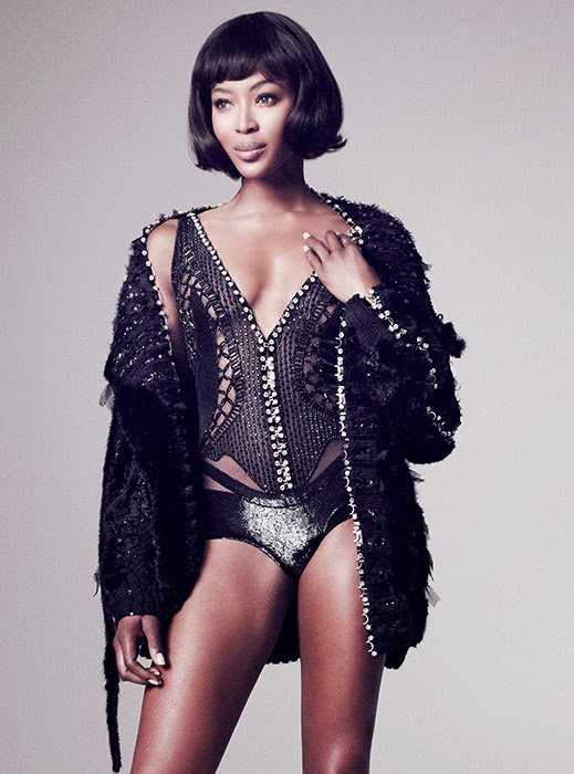 Naomi Campbell by Marcin Tyszka for Vogue Thailand November 2013