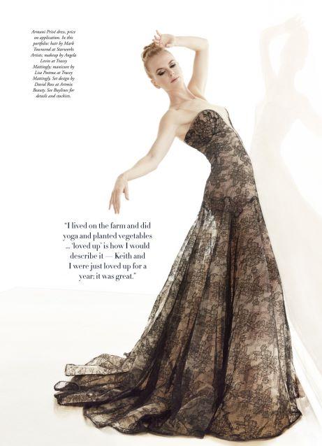 Nicole Kidman by James White for Harper's Bazaar Australia December 2013