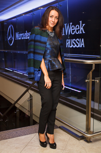 Off the runway at Mercedes-Benz Fashion Week Russia Spring/Summer 2014