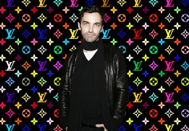 Officially Nicolas Ghesquière is the artistic director of Louis Vuitton