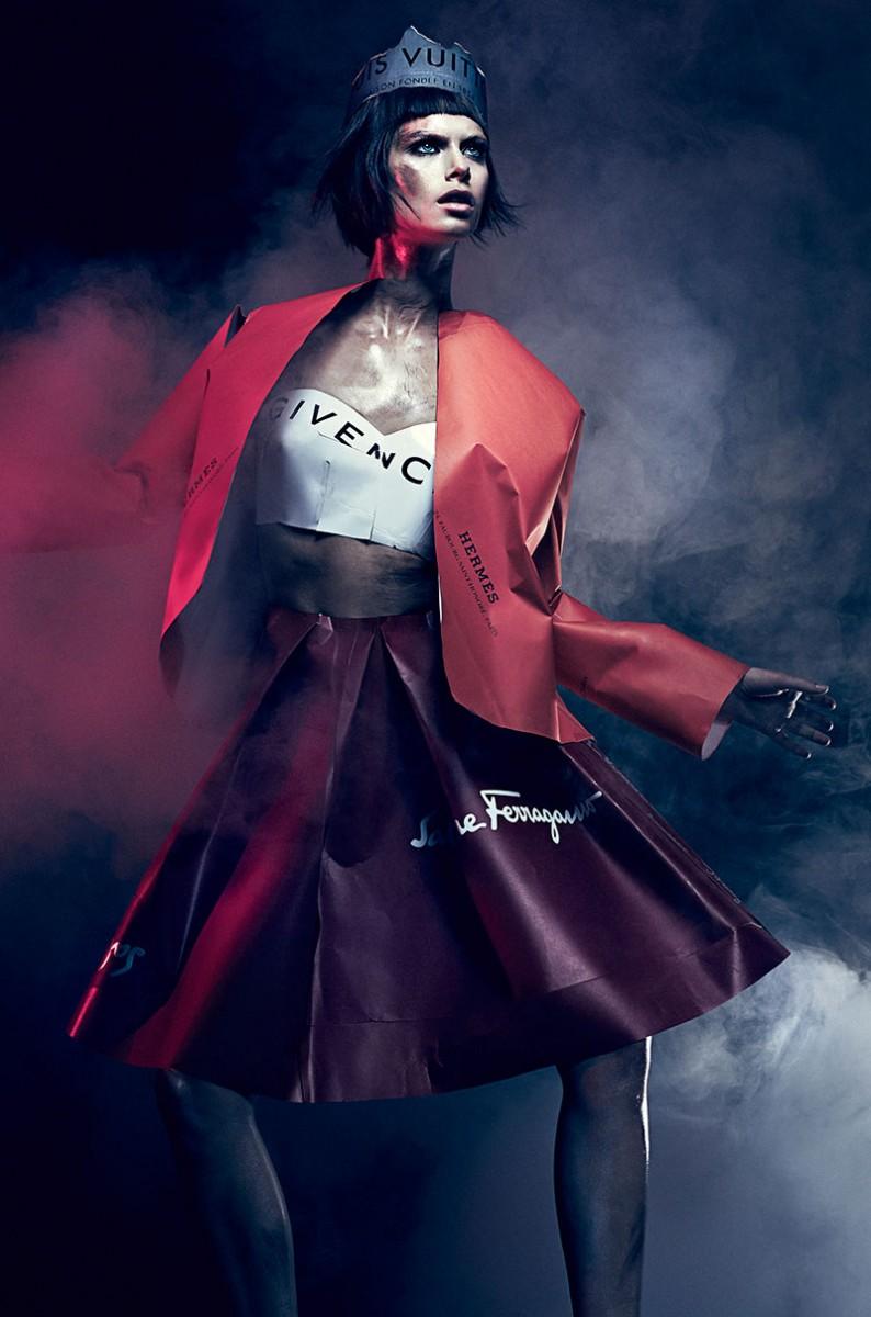 Pamela Bernier by Chris Nicholls for Fashion Magazine  December 2013