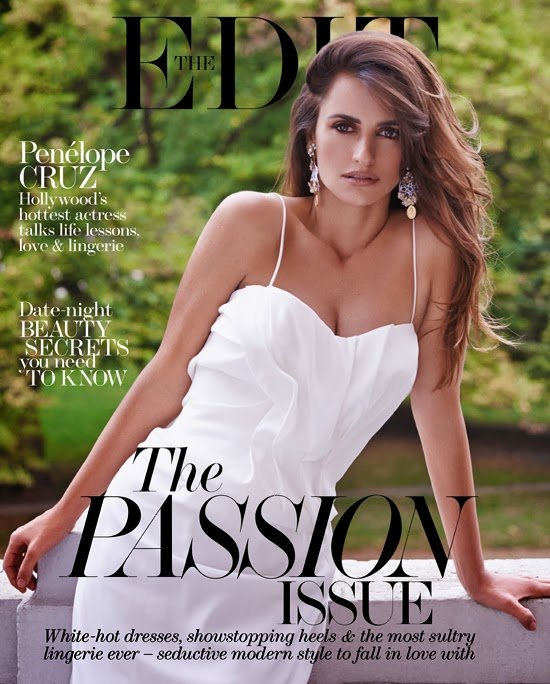 Penelope Cruz by Mariano Vivanco for The Edit November 14, 2013