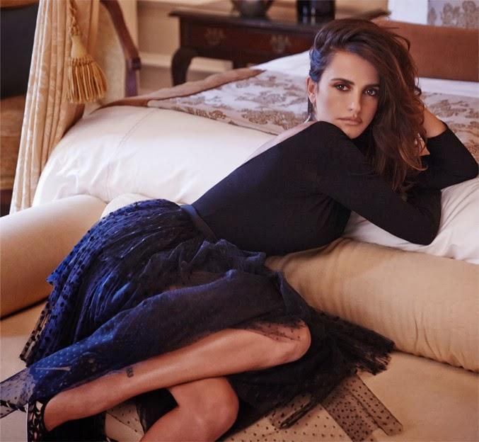 Penelope Cruz by Mariano Vivanco for The Edit November 14, 2013