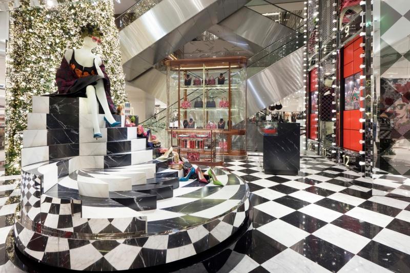 Prada for Printemps Christmas 2013