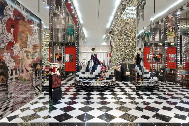 Prada for Printemps Christmas 2013