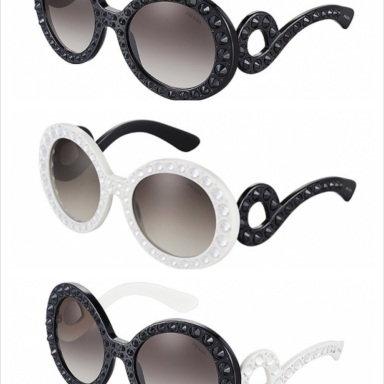 Prada Precious Ornate glasses collection