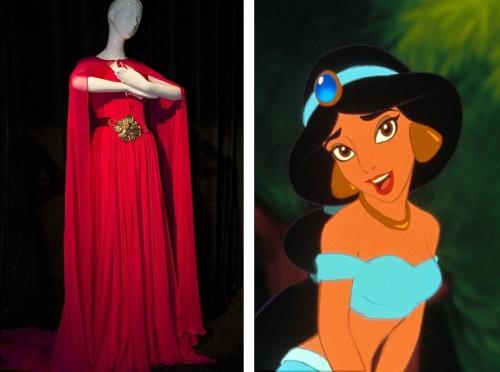 Princess Jasmine from Escada Aladdin in 1992 )