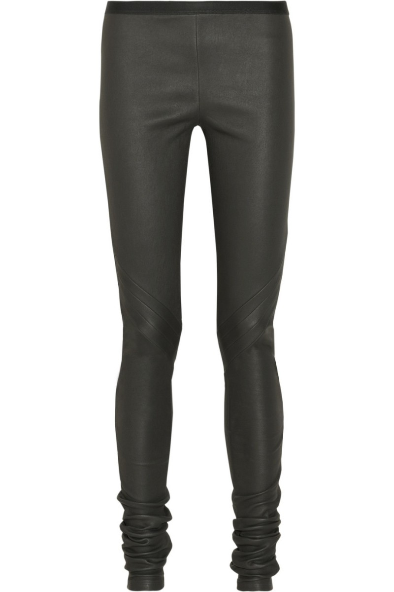 best black stretch pants - Pi Pants
