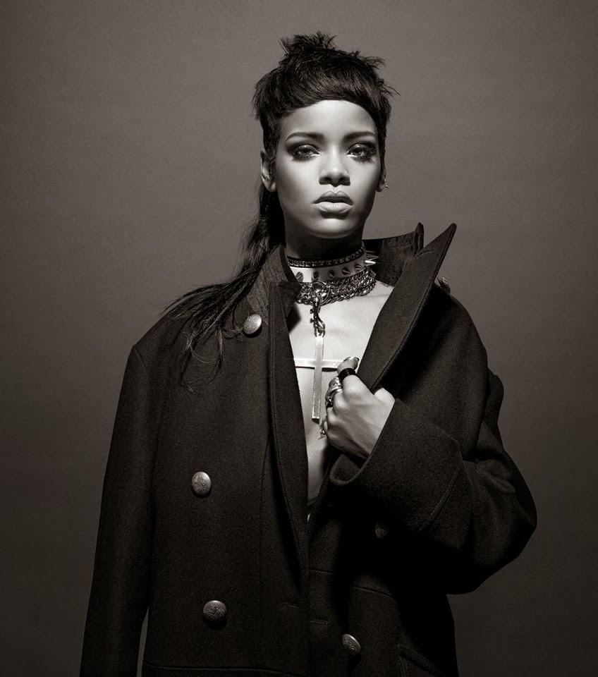 Rihanna by Inez & Vinoodh for 032c Magazine Fall 2013