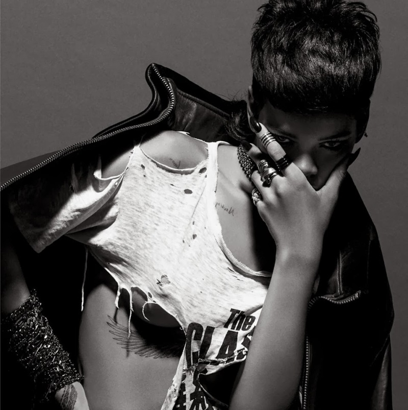 Rihanna by Inez & Vinoodh for 032c Magazine Fall 2013