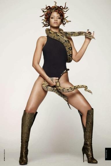 Rihanna by Mariano Vivanco for GQ UK December 2013