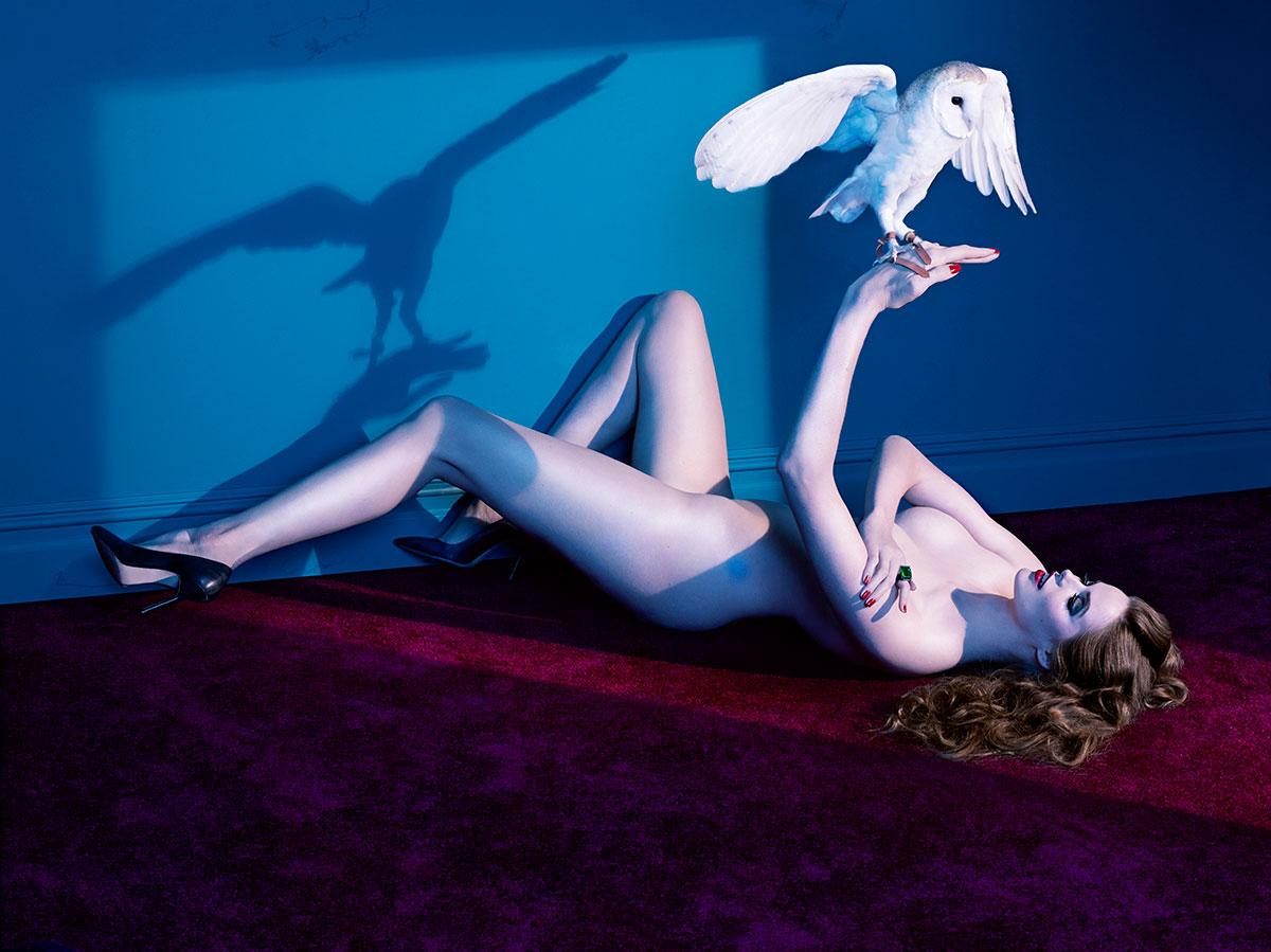 ROBYN LAWLEY NAKED WITH ANIMALS IN 'SIZE DOES MATTER' Photo- Courtesy of Kenneth Willardt
