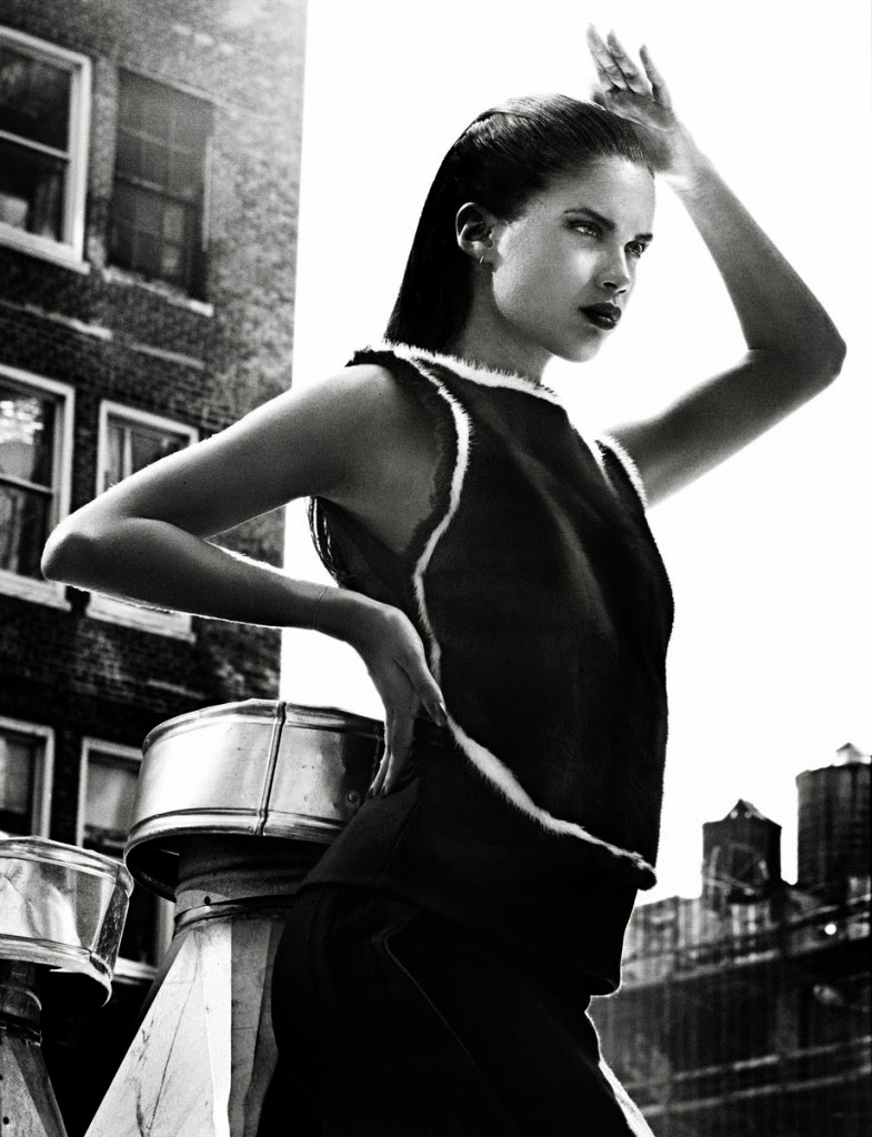 Sara Sampaio by David Agbodji for Flaunt November 2013