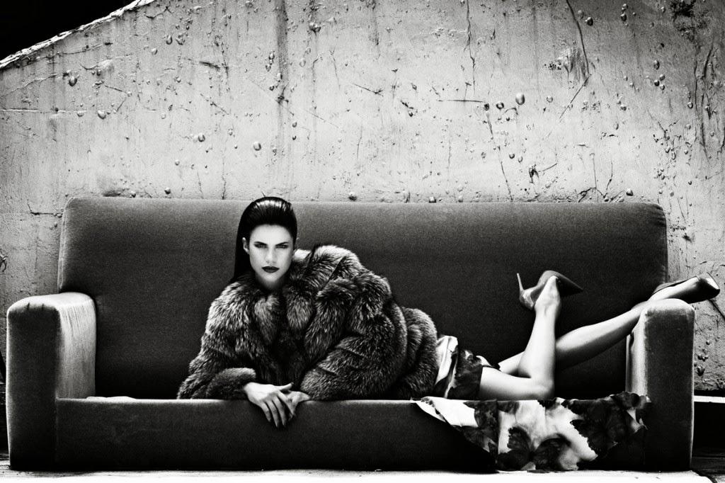 Sara Sampaio by David Agbodji for Flaunt November 2013