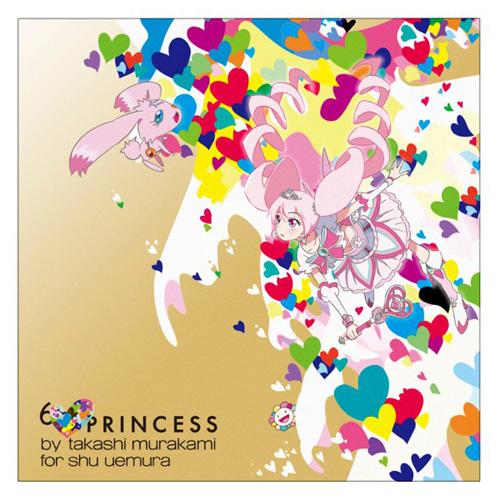 Shu Uemura 6 Princess by Takashi Murakami Collection Holiday 2013