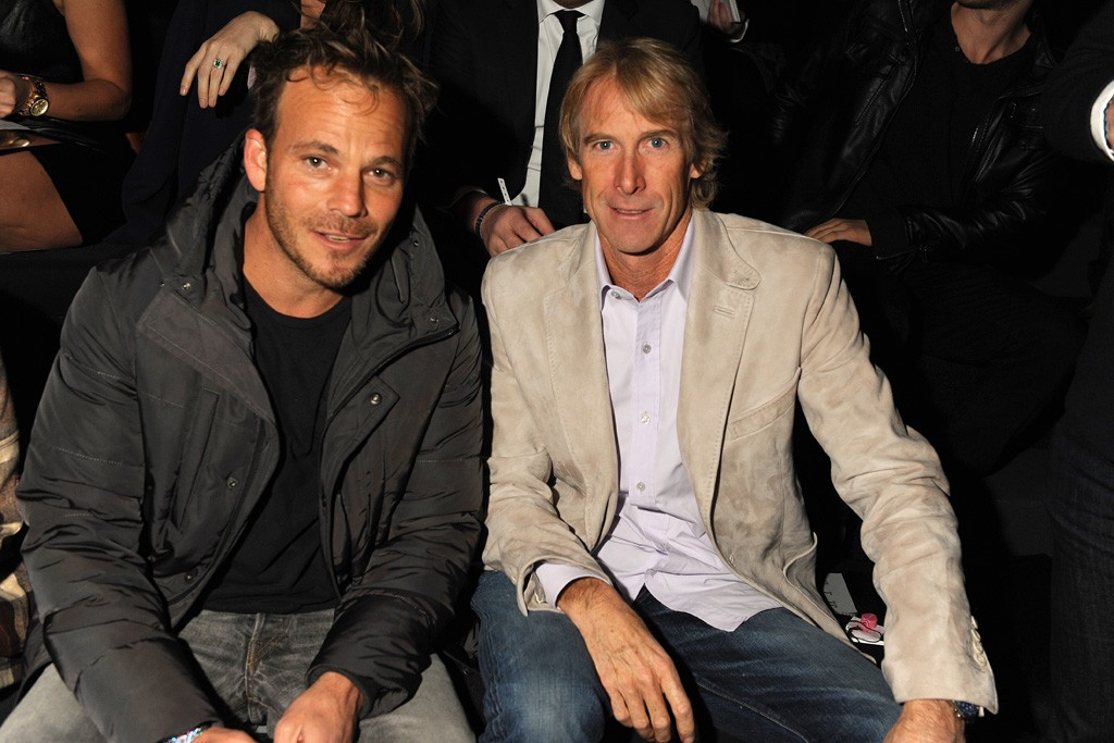 Stephen Dorff and Michael Bay Photo by Steve Eichner