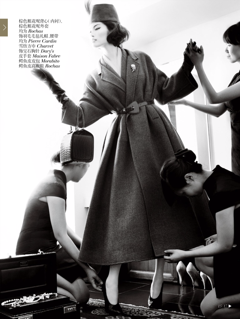 Sui He by Mario Testino for Vogue China December 2013 Sui He by Mario Testino for Vogue China December 2013