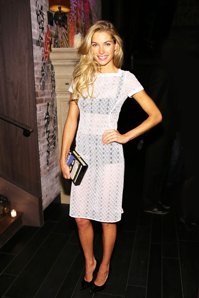Jessica Hart attends the 2013 Victoria's Secret Fashion after party at TAO Downtown