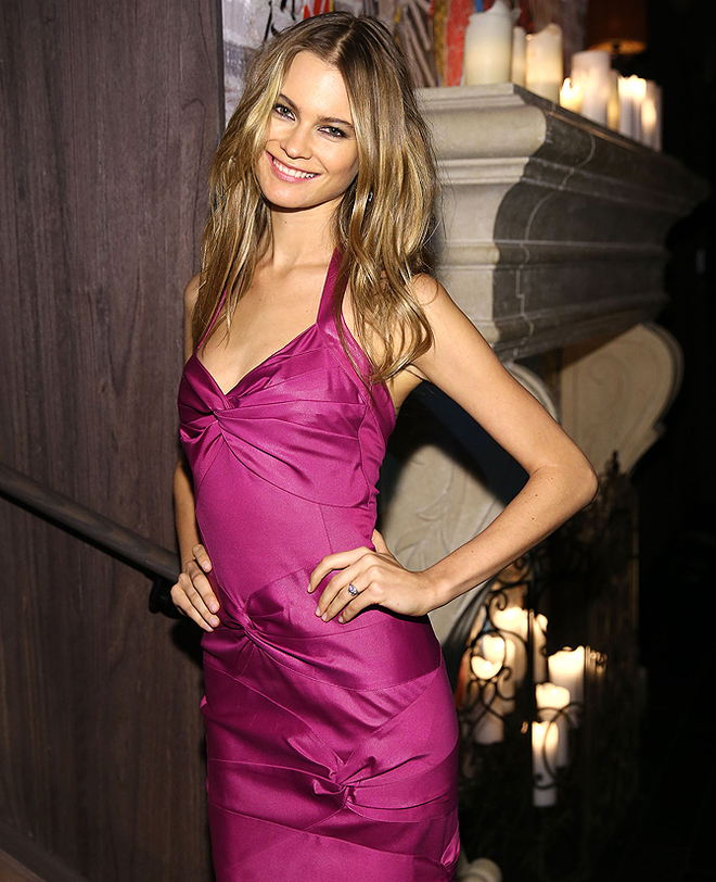 Behati Prinsloo attends the 2013 Victoria's Secret Fashion after party at TAO Downtown