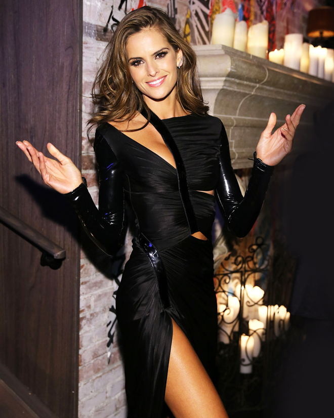 Izabel Goulart attends the 2013 Victoria's Secret Fashion after party at TAO Downtown