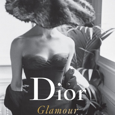 The Dior Glamour by Mark Shaw cover