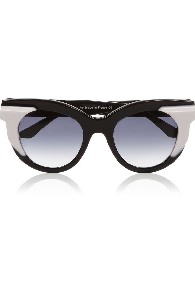 THIERRY LASRY Two-tone acetate cat eye sunglasses €385