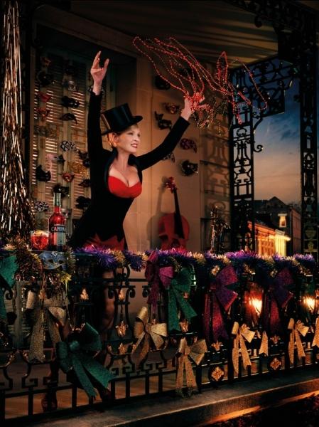 Uma Thurman by Koto Bolofo for Campari 2014 calendar March