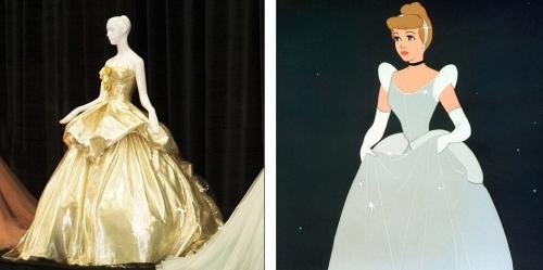 Versace - Cinderella  ( 1950 ) .