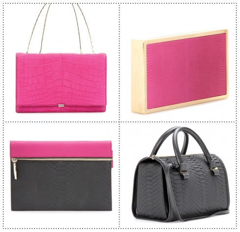VICTORIA BECKHAM'S EXCLUSIVE HANDBAG COLLECTION FOR MYTHERESA.COM