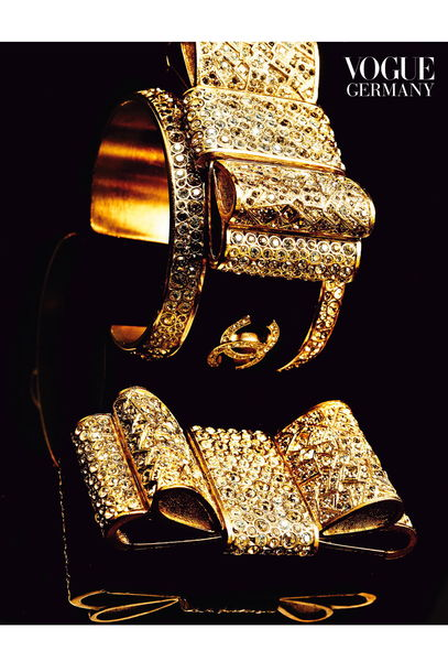 Vogue Germany - Accessories In Gold