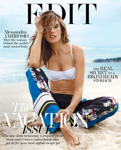 Alessandra Ambrosio by Miguel Reveriego for The Edit December 2013