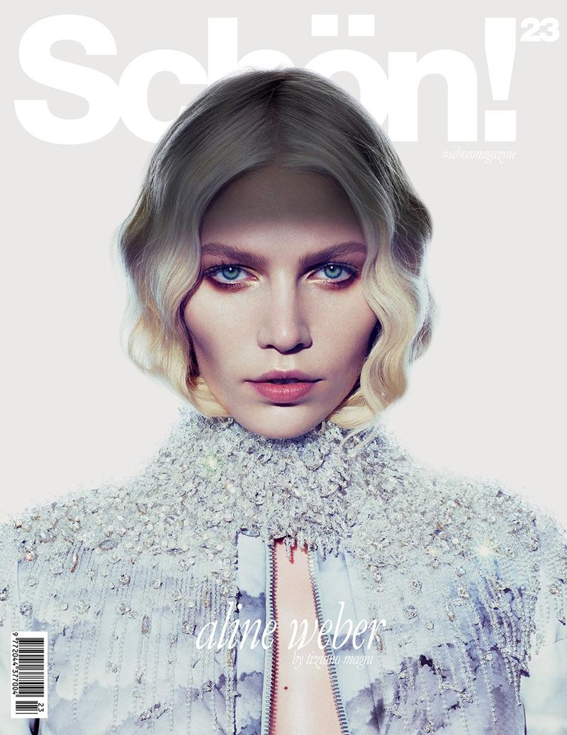 Aline Weber By Tiziano Magni For Schön! Magazine December 2013