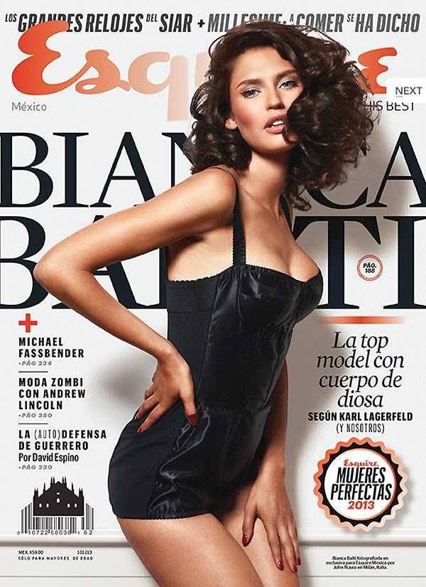 Bianca Balti by John Russo for Esquire Mexico November 2013