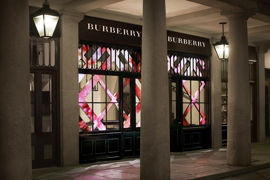 Burberry Beauty Box in London