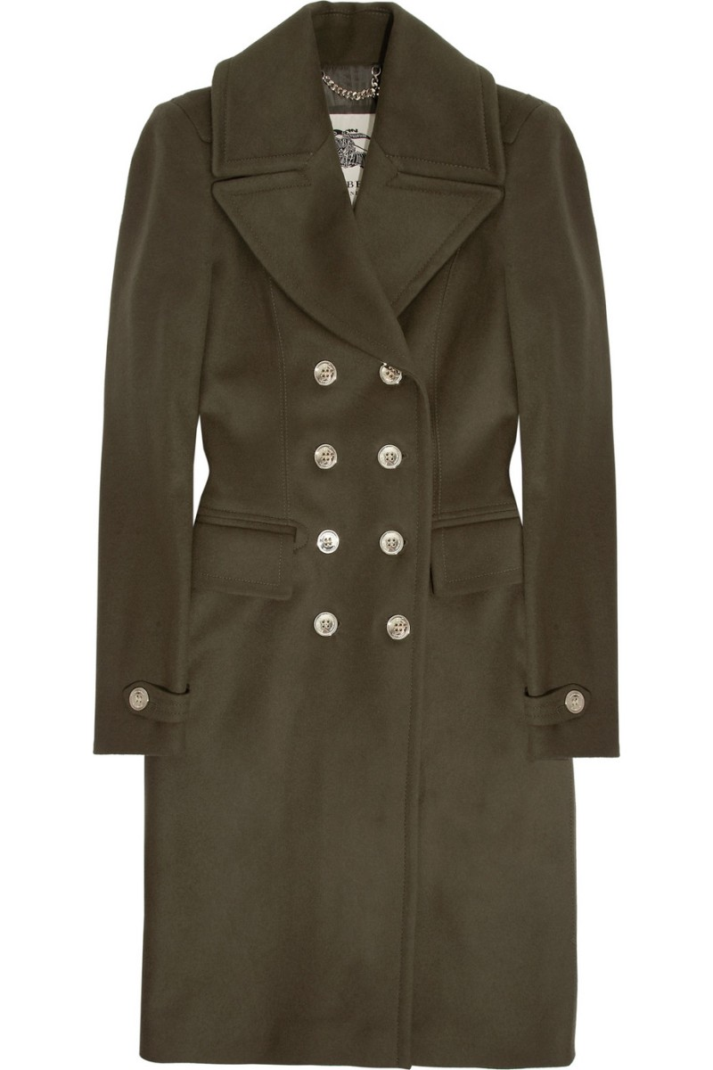 BURBERRY LONDON Double-breasted wool-blend coat €1,295