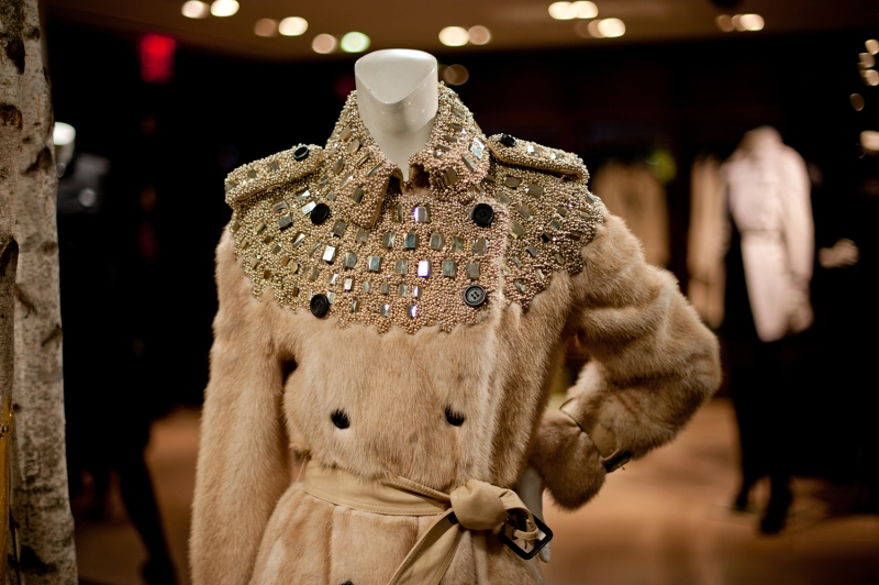 Burberry's limited edition trenches for Bergdorf Goodman
