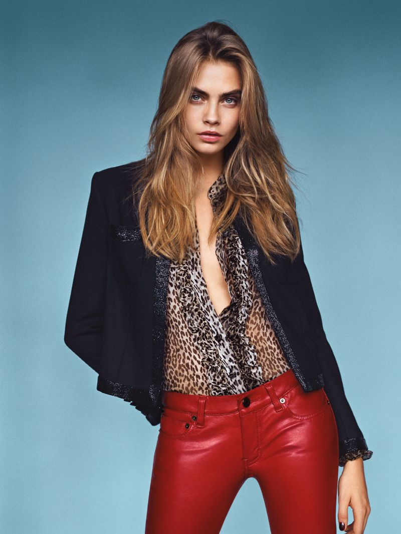 Cara Delevingne by Alasdair McLellan for Vogue UK January 2014
