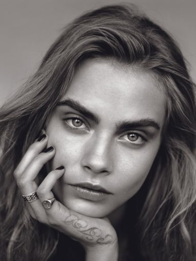 Cara Delevingne by Alasdair McLellan for Vogue UK January 2014