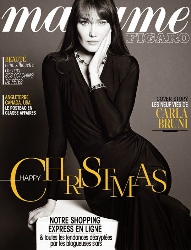 Carla Bruni for Madame Figaro December 13, 2013
